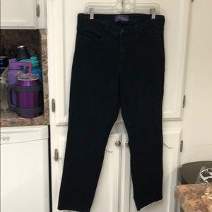 NJDJ Size 14P black jeans